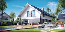 Projekt domu HomeKONCEPT-12: styl nowoczesne, w kategorii Domy zaprojektowany przez HomeKONCEPT | Projekty Domów Nowoczesnych