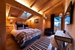 Спальная комната  в . Автор – David Village Lighting