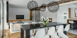 Столовые комнаты в . Автор – HomeKONCEPT | Projekty Domów Nowoczesnych