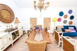 landhausstil Esszimmer von alma portuguesa