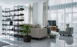 modern Living room by Chibi Moku
