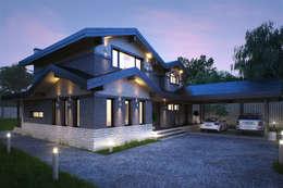 Жилой дом со СПА зоной: Дома в . Автор – META-architects архитектурная студия
