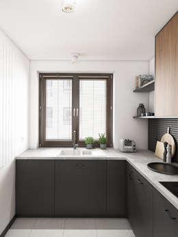 modern Kitchen by Marta Wypych | pracownia projektowa