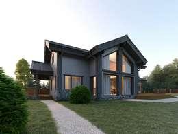 Casas de estilo escandinavo por META-architects архитектурная студия
