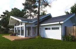 scandinavische Garage/schuur door META-architects архитектурная студия