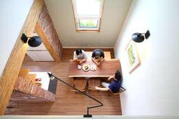 modern Dining room by 주택설계전문 디자인그룹 홈스타일토토
