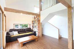 ห้องนั่งเล่น by 주택설계전문 디자인그룹 홈스타일토토