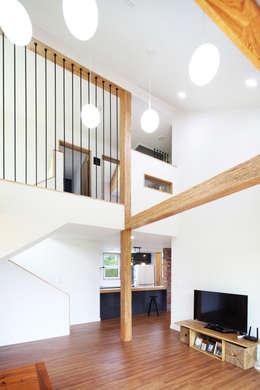 moderne Woonkamer door 주택설계전문 디자인그룹 홈스타일토토