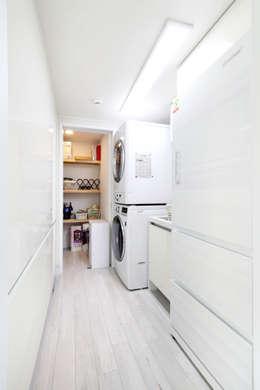 팬트리: 주택설계전문 디자인그룹 홈스타일토토의  주방