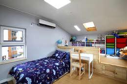 아들방: 주택설계전문 디자인그룹 홈스타일토토의  아이방