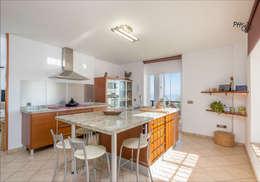 مطبخ ذو قطع مدمجة تنفيذ Hansen Properties