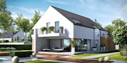 HomeKONCEPT   Projekty Domów Nowoczesnych: modern tarz Evler