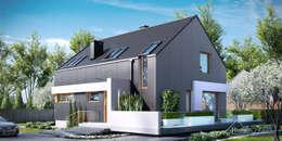 modern Houses by HomeKONCEPT | Projekty Domów Nowoczesnych