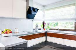 modern Kitchen by Biuro Projektów MTM Styl - domywstylu.pl
