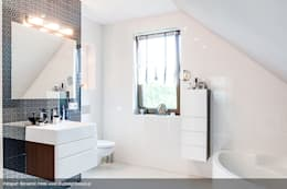 Salle de bains de style  par Biuro Projektów MTM Styl - domywstylu.pl