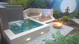 حديقة تنفيذ Neues Gartendesign by Wentzel
