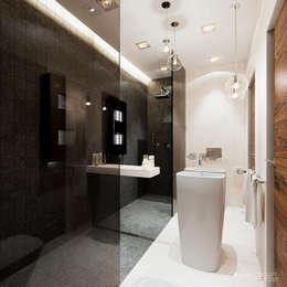 ห้องน้ำ by HomeKONCEPT | Projekty Domów Nowoczesnych