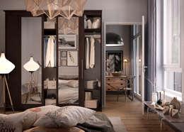 eclectic Bedroom تنفيذ Дмитрий Каючкин