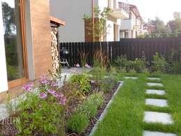 Jardines de estilo moderno por Zieleń i Przestrzeń