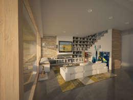 Salon de style de style Moderne par AL ARCHITEKT