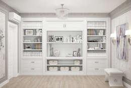"""Кабинет """"Glamour"""" : Рабочие кабинеты в . Автор – Студия дизайна Дарьи Одарюк"""