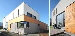 modern Houses by Architekturbüro Schumann