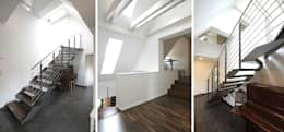 Couloir et hall d'entrée de style  par Architekturbüro Schumann