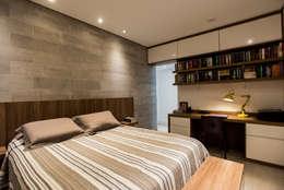 Habitaciones de estilo moderno por L2 Arquitetura