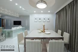 home: asian Dining room by ZERO9