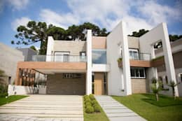 modern Houses by Sakaguti Arquitetos Associados