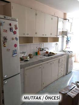 TEKNİK SANAT MİMARLIK LTD. ŞTİ. – Anahtar Teslim Konut Yenileme Projesi Toros / ADANA: modern tarz Mutfak