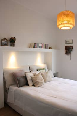 Dormitorios de estilo ecléctico por studio ferlazzo natoli