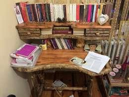 Coşkun Ahşap Dekorasyon – çalışma odası: rustik tarz tarz Çalışma Odası
