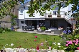 Projekty, industrialne Domy zaprojektowane przez Courants Libres