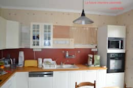 Projekty,  Kuchnia zaprojektowane przez Courants Libres