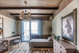 Квартира в стиле Современное шале: Спальни в . Автор – Дизайн Мира