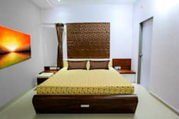 Master Bedroom: modern Bedroom by ZEAL Arch Designs