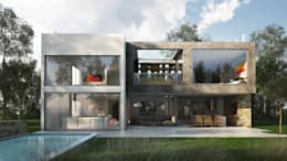 minimalistic Houses by Estudio Medan Arquitectos