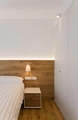 minimalistische Slaapkamer door dom arquitectura