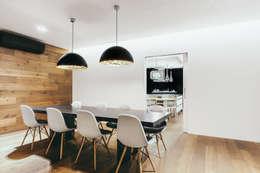 Comedores de estilo moderno por dom arquitectura