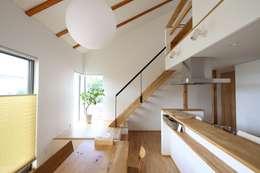 scandinavian Dining room by C-design吉内建築アトリエ