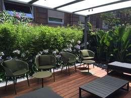 Jardines de estilo moderno por BURESINNOVA S.A.