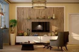 country Living room by Студия интерьерного дизайна happy.design