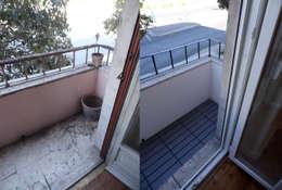 Terrace by Happy Ideas At Home - Arquitetura e Remodelação de Interiores