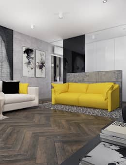 modern Living room by VITTA-GROUP