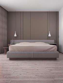 minimalistische Slaapkamer door VITTA-GROUP