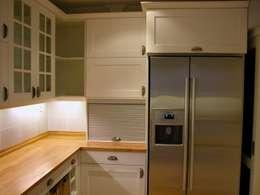 مطبخ تنفيذ İndeko İç Mimari ve Tasarım