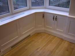 İndeko İç Mimari ve Tasarım – 4.Levent Evi: klasik tarz tarz Oturma Odası