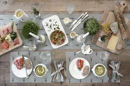 Comedores de estilo rural por Sophie Allport