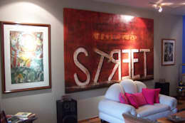 Casa Moening: Salas de estilo moderno por Bojorquez Arquitectos SA de CV